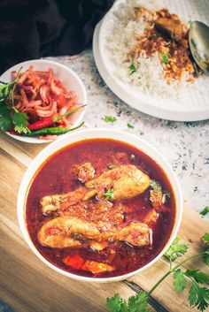 Tamatar Murgh is a delicious Chicken curry recipe which goes very well with roti or rice. It has a slightly tangy flavour from tomatoes. #Recipe #Indian #Chicken #Curry #Food #Photography #Styling