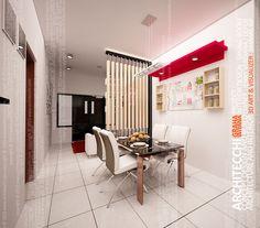 Architecchi, Arsitek Desain Interior, Arsitek Interior Minimalis, Desain Interior Ruang Makan Minimalis, Jenny's House