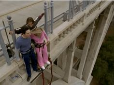 """The stunt doubles who took the bungee jump for J. and Elliot in the second season met that day and eventually got married. 20 Bits Of Trivia You May Not Know About """"Scrubs"""" Scrubs Quotes, Neil Flynn, Jump Quotes, Internal Monologue, Stunt Doubles, Character Names, Main Character, Whitewater Kayaking, Bungee Jumping"""