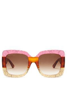 1c432c9d65c9 Gucci Oversized square-frame sunglasses Gucci Sunglasses