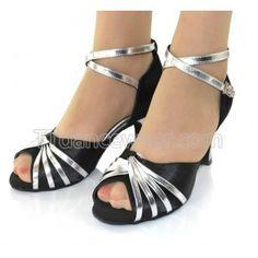 http://www.ttdancewear.com/latin-salsa-shoes/Free-Shipping-Wholesale-Black-Satin-Silver-Details-Ladies-Dance-Shoes-Ballroom