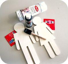 Bathroom Door Makeover peppermint plum: {bathroom door makeover} | for the home