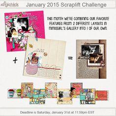 Scraplift Challenge - January 2015