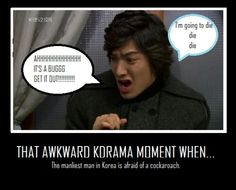 Dude. Get a grip. Lol. make that Dudes. there are two that I know of in real life never mind a kdrama