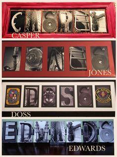 36 best firefighter letter art images on pinterest lettering art