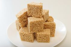 Caramelized Brown Butter Rice Krispies Treats: This absurdly easy recipe came to The Times from Colin Alevras, then the chef at the Tasting Room in New York, which, until it closed in 2008, offered Rice Krispies treats every day, and made more for Halloween Browning the butter elevates these plebeian snacks into something more toothsome, and it adds just an extra couple of minutes to the process They're so good.