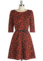 Lady Skater Bookstore Benefit Dress | Mod Retro Vintage Dresses | ModCloth.com