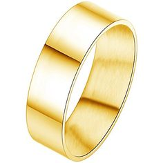* Penny Deals * - Women - Size 5 - BOHG Jewelry Mens Womens Highly Polished Stainless Steel Ring Love Couples Engagement Wedding Bands Gold ** Check this awesome product by going to the link at the image.