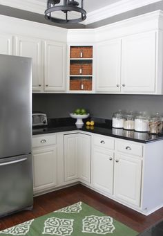 before and after renovating a 35 square foot kitchen square feet