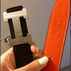 hermes belt women reversible