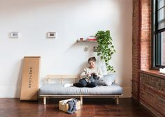 "Collection of quick-assembly, flat-pack pieces designed ""to be a better alternative to Ikea""."
