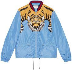 288ff9747 Gucci Tiger Print Lightweight Jacket - Farfetch. Lightweight Bomber  JacketNylon ...