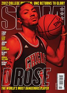 SLAM 152: Chicago Bull Derrick Rose appeared on the cover of the 152nd issue of SLAM Magazine (2011).