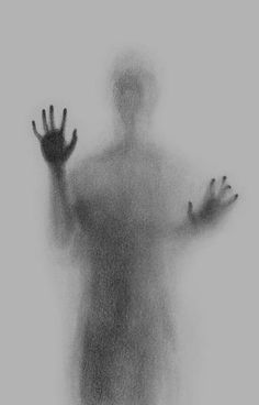 Ghostly Shadow Art Look Like Figures Trapped Behind Frosted Glass Scary Drawings, Art Drawings Sketches Simple, Dark Art Drawings, Pencil Art Drawings, Ghost Drawing, Deep Drawing, Drawing Ideas, Deep Art, Scary Art