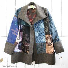 Kimono jacket front