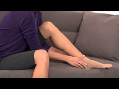 Are you on your feet all day? Get relief for tired, aching legs with compression hosiery, including tights, pantyhose, thigh highs and knee highs made with supportive yarns. Watch this quick video before choosing a pair.
