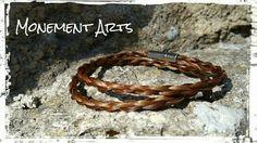 Wickelarmband mit Steckverschluss