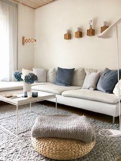 Wohnzimmer grau in 55 beispielen erfahren wie das geht wohnzimmer ideen pinterest - Rauchblau wandfarbe ...