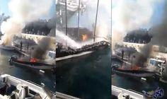 حريق يلتهم مجموعة من المراكب السياحية في ميناء المضيق الإثنين: اندلع، الإثنين، حريق داخل مجموعة من المراكب السياحية في ميناء المضيق شمال…