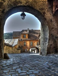 Medieval town of Sighisoara, Romania. Places Around The World, The Places Youll Go, Places To See, Places To Travel, Around The Worlds, Beautiful World, Beautiful Places, Foto Nature, Europa Tour