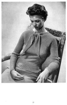 65036b5a82ef6 New Knitting No. 26 - 11 Designs for the Family Early 1950s Classic Patterns  Booklet Instant Download
