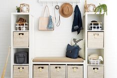 Never underestimate the power of a clean, organized home. Not only is the physical space clutter-free, an organized space also has the ability to keep your