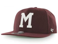 Montreal Maroons Sure Shot Snapback Cap by 47 BRAND x NHL