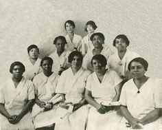 Graduating Class of 1921, Poro College, The 1st institute in the US to center around black cosmotology.