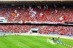 Torcida do Flamengo, Maracanã, via Flickr.