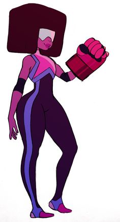 Love fanart where people draw them steven universe peeps in different outfits... garnet!
