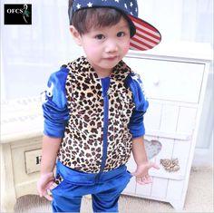 $20.95 (Buy here: https://alitems.com/g/1e8d114494ebda23ff8b16525dc3e8/?i=5&ulp=https%3A%2F%2Fwww.aliexpress.com%2Fitem%2F2016-New-Baby-Kids-Tracksuit-Fashion-Leopard-Grain-Best-Quality-Velvet-Hoodies-Pants-Casual-Boys-Girls%2F32735535825.html ) 2016 New Baby Kids Tracksuit Fashion Leopard Grain Best Quality Velvet Hoodies + Pants Casual Boys Girls Sport Set Children Suit for just $20.95