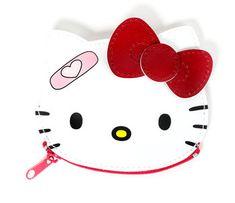 Hello Kitty Die-Cut Coin Purse: Patches