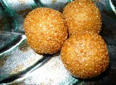 Learn how to make Sesame Ball pastries (Banh Cam). It is a type of fried Asian pastry made from glutinous rice flour. The pastry is coated with sesame seeds on the outside and is crisp and chewy. The inside of the pastry is a large hollow filled with a filling usually consisting of mung bean paste.