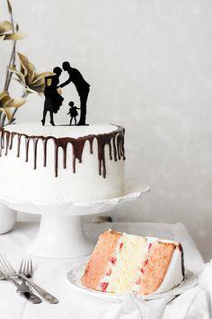 Kanela y Limón: Cheescake cake de fresa y vainilla