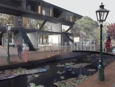 One of our heroes, famous among all architects, is doing his first project in the Netherlands: Peter Zumthor @ meelfabriek in Leiden. All st...