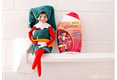 Cute as he may be, your Elf on the Shelf is capable of all kinds of mischief and liable to find hiding spots in the most bizarre, creative and funny places.