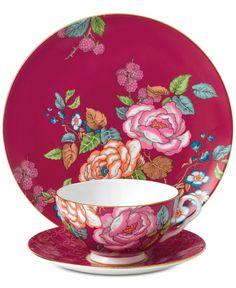 Wedgwood Tea Garden Raspberry 3-Pc. Set