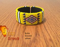 Zulu bead work handcrafted by Zulu women South Africa by ZULUArtwork Zulu Women, South Africa, Beads, Unique, Bracelets, Creative, Artwork, Handmade, Crafts