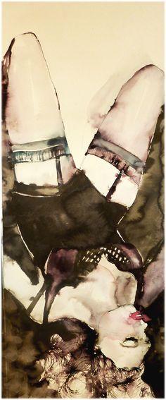 "Beautiful rendering by Artist: Aga Maria Masternak; Watercolor, 2011, Painting ""aries27"""