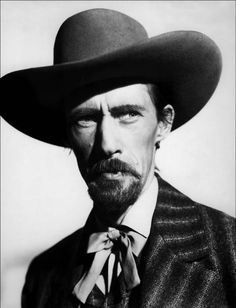 THE RETURN OF FRANK JAMES - John Carradine as 'Bob Ford' - Directed by Henry King - 20th Century-Fox - Publicity Still.