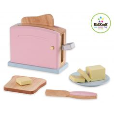 New Toaster Set - Pastel