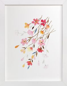 Blossoming by Stephanie Ryan at minted.com
