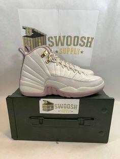 668fa3adf83 Nike Air Jordan XII 12 Retro GS HEIRESS PLUM FOG OFF WHITE BONE 845028-025  sz 6Y #Nike #Athletic. Swoosh Supply · Youth ...