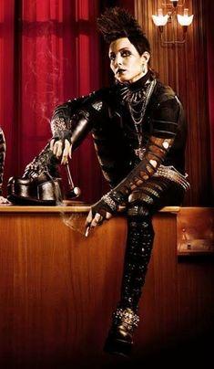 Lisbeth Salander - Noomi Rapace - The Girl with the Dragon Tattoo / Hornets Nest 2009 - Original Swedish version Ola Rapace, Noomi Rapace, Chica Punk, Lisbeth Salander, Millenium, Stieg Larsson, Dragon Girl, Two Movies, Tough Girl