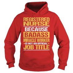 Awesome Tee For Registered Nurse copy