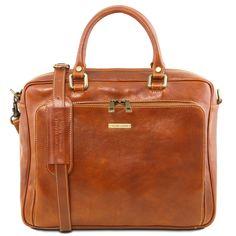59db8483a98 Pisa Leather laptop briefcase with front pocket Lederen Aktetas, Pisa,  Lederen Ontwerp, Tassen