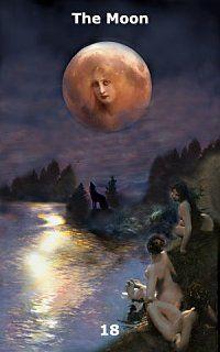 The Moon, Infinite Visions Tarot