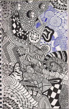 Zentangle By MollyLuvsYou On DeviantArt
