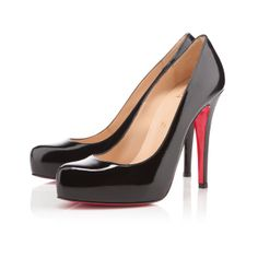 ROLANDO PATENT 120 mm, Patent leather, BLACK, Christian Louboutin.