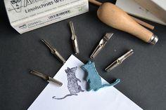 Rat stamp.